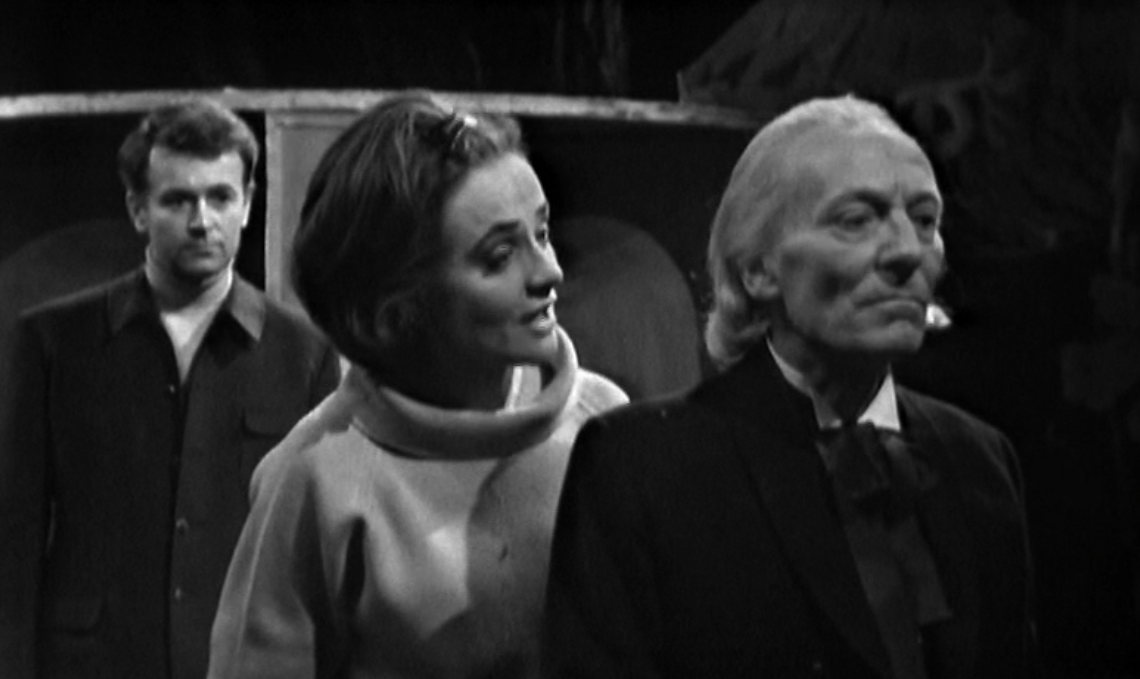 Ian and Barbara in Doctor Who